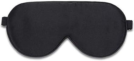 Purefly アイマスク 睡眠用 軽量 柔らかシルク質感 締め付けベルトが調節できる 旅行に最適