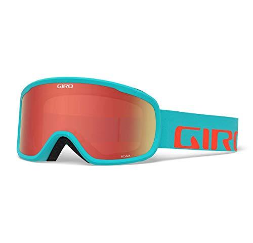 (Giro Roam Snow Goggles Glacier/Vermillion Apex - Amber Scarlet/Yellow)