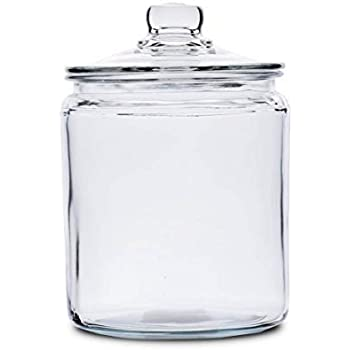 6d68ace3ad6f Amazon.com: Anchor Hocking Heritage Hill 1/2 Gallon Glass Dry Good ...