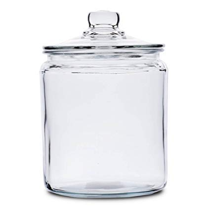 (Anchor Hocking 2-Gallon Heritage Hill Canister Jar SET of 3)