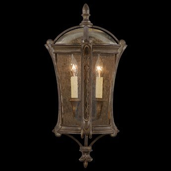 Outdoor Coupe - Fine Art Lamps 574781ST Gramercy Park Outdoor Coupe Light Mount