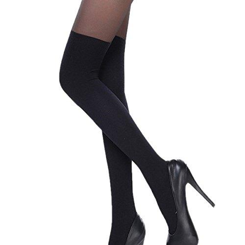 18 con de mm lujo y Tirantes medias de calcet SqtzwI4n4c