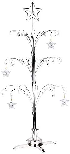 Swarovski Christmas Ornament 2021 Hohiya For Swarovski Christmas Ornament 2021 Annual Snowflake Crystal Angel Ball Star Ornament Rotating Display Metal Stand Decorations Birthday Gift 47inch Chrome Buy Online At Best Price In Uae Amazon Ae