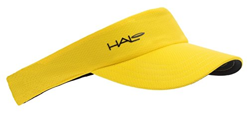 Halo Headbands Sweatband Sport Visor, - Yellow Visor