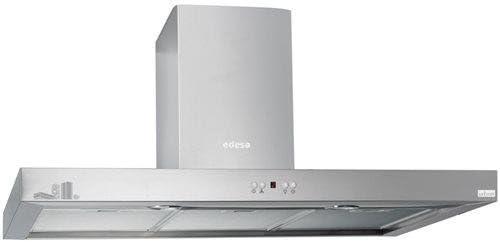 Edesa URBAN-BOX92X De pared Acero inoxidable 750m³/h - Campana (750 m³/h, Recirculación, 70 dB, 55 cm, 65 cm, De pared): Amazon.es: Hogar