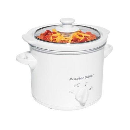 Proctor Silex 33015Y 1-1|2-Quart Round Slow Cooker|Party Dipper