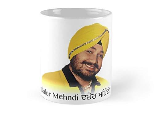 Land Rus Daler Mehndi Mug - 11oz Mug - Features wraparound prints - Dishwasher safe - Made from Ceramic - Best gift for family friends