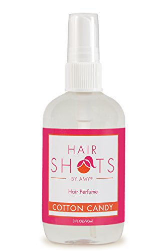 Hair Shots Cotton Candy Perfume Quality Heat Activated 3 oz Hair Fragrance