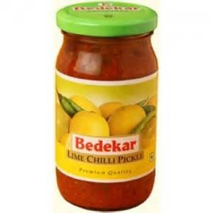 Bedekar Lime Chilli Pickle - 400g., 14oz