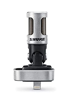 Shure MV88/A iOS Digital Stereo Condenser Microphone (B010W6W8OW) | Amazon Products