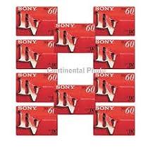 Sony DVC60PRL Mini DV Tape 60min Premium Data Cartridge 10 Packs