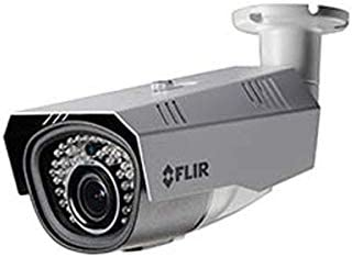 Flir Digimerge C234BC Outdoor 4-in-1 Security Bullet Camera, 720p MPX WDR Camera, 2.8-12mm, Manual Zoom, 115ft Night Vision, Works with AHD CVI TVI CVBS Lorex, Flir MPX DVR, White Camera Only