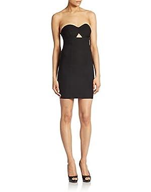 Guess Strapless Sheath Dress Black XL