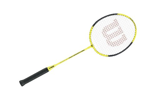 Wilson Matchpoint Badminton Racket (Yellow, 660 mm)