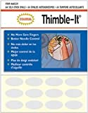 Bulk Buy: Colonial Needle Thimble It Finger Pads 64/Pkg 60229 (3-Pack)