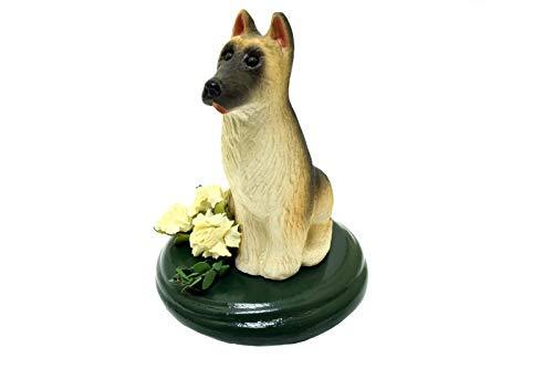 - Byers Choice Dog Hound German Shepard w/Flowers