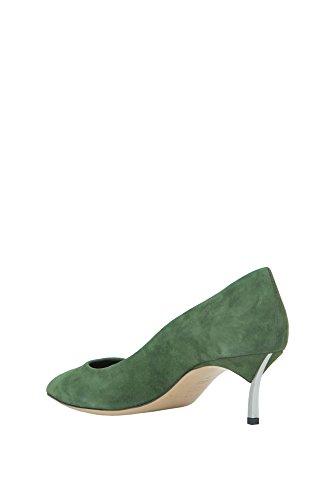 Casadei In Tacco Camoscio Verde Mcglcat02036i Donna qxFngqSrw6