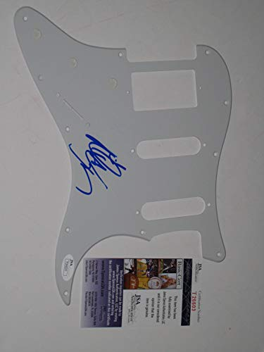 Nita Strauss signed autographed Guitar Pick Guard Alice Cooper (JSA COA)
