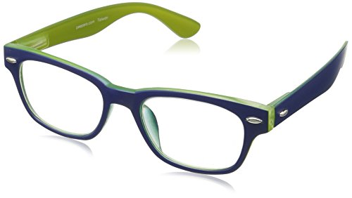 Peepers Bellissima 2161150 Retro Reading Glasses, Blue/Green, 1.5