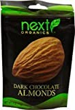 Next Organics, Almonds, Og2, Dk Choc Coatd, Pack of 6, Size - 4 OZ, Quantity - 1 Case