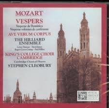 Mozart: Vespers, K. 321 & 339 by N/A (2008-01-01)