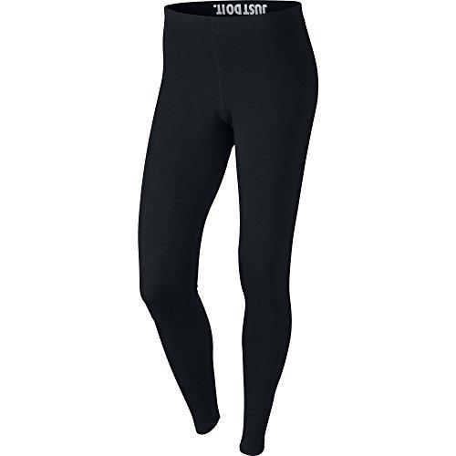 Nike Womens Leg-A-See Logo Leggings Black/White 806927-010 Size Medium
