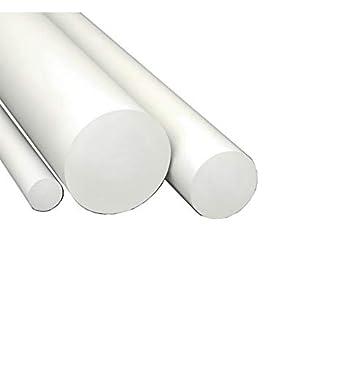 D20x1000 mm diametroxlunghezza Barra tonda in PVC NERO disponibili vari diametri e lunghezze