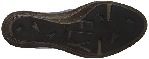 Fly London P300621006, Zapatos de Cuñas Mujer Azul (Smurf Blue/Khaki 008)