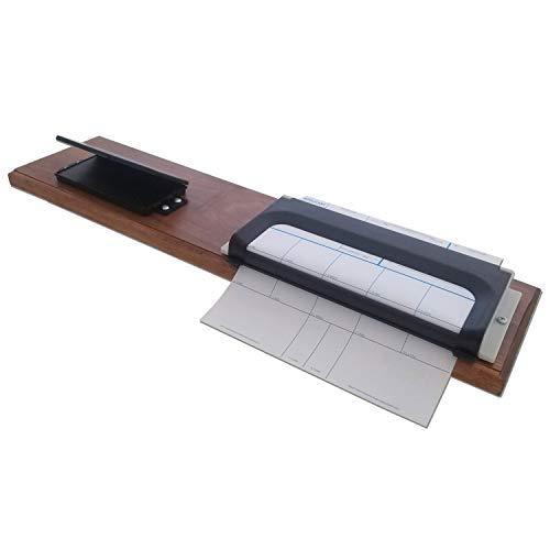 Complete Fingerprinting Kit: Ink, Cards, Holder and Base