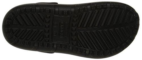 Adulte Hilo Crocs U Noir Anthracite Mixte Lined Sabots wpaFxdaXq