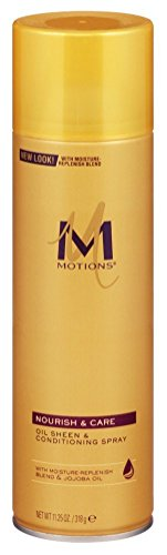 Motions At Home Oil Sheen and Conditioning Spray Aerosol 11.25 oz. (Pack of - Oil Motions Spray Sheen