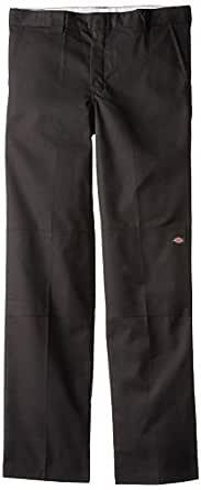 Dickies Big Boys' Flex Waist Double Knee Pant, Black, 10