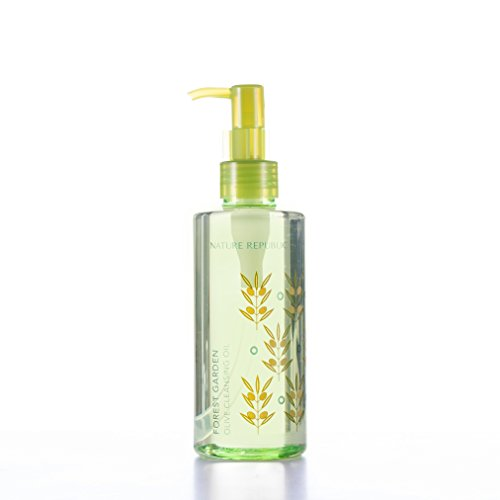 - Nature Republic Forest Garden Olive Cleansing Oil, 200 Gram