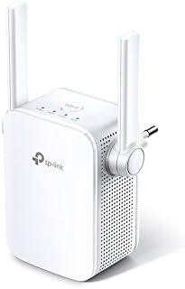 TP-Link - Repetidor WiFi AC1200, 5 GHz & 2.4 Ghz, Amplificador WiFi Extensor, con Puerto Ethernet, Repetidor Inalámbrico, Blanco (RE305)