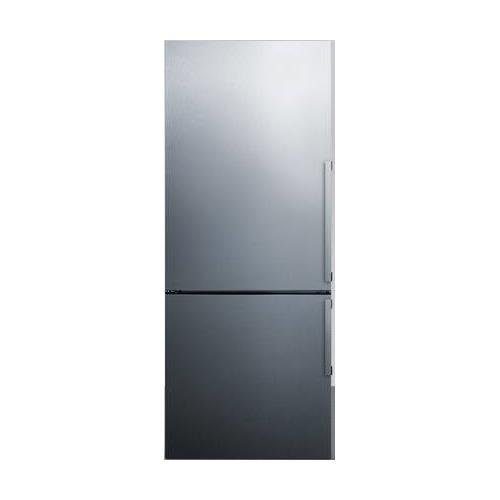 (Summit FFBF286SS Refrigerator, Stainless Steel)
