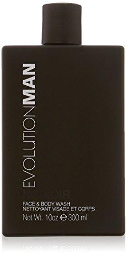 Evolution Body - Evolution Man Face and Body Wash, Nu Noir, 10 Ounce