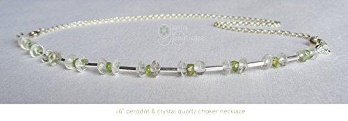 GemsBeautique Delicate Gemstone Silver 16