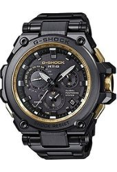 Casio Men's MTG-G1000GB-1A G-Shock Analog Tough Movement Black Stainless Steel/Resin Composite Watch
