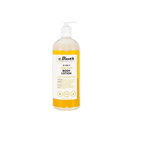 - C. Booth 4-In-1 Multi-Action Body Lotion, Lemon Sugar, 32 Fluid Ounce