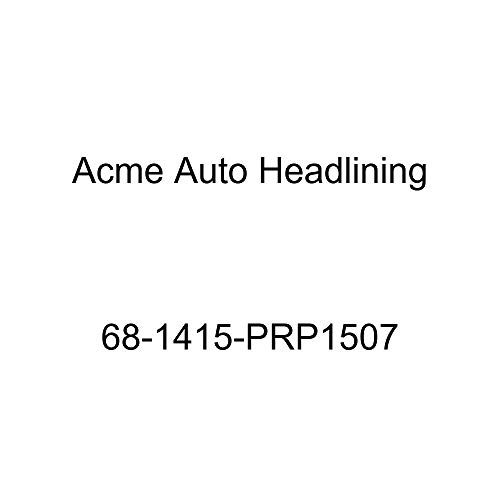 Acme Auto Headlining 68-1415-PRP1507 Red Replacement Headliner (Chevrolet Impala 4 Door Hardtop 5 Bow)