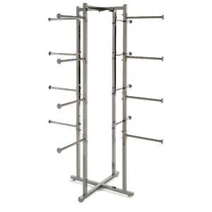 61'' Hanging Clothes Rack by Retail Resource