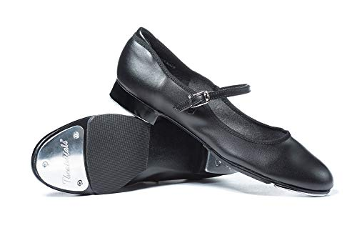 Theatricals Adult Slide Buckle Tap Shoes T9200BLK08.5M Black 8.5 M US (Best Tap Shoes For Adults)