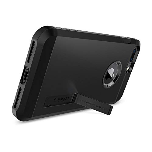 Spigen Tough Armor [2nd Generation] Designed for Apple iPhone 8 Plus Case (2017) / Designed for iPhone 7 Plus Case (2016) - Black