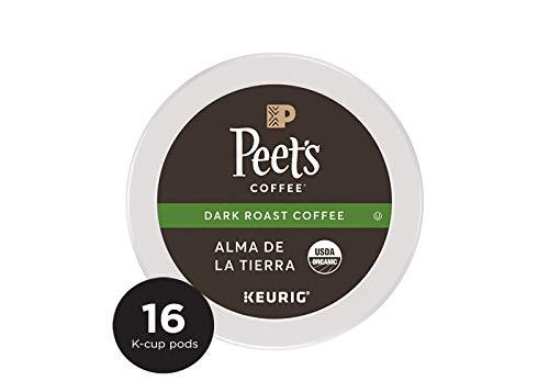Peet's Coffee K-Cup Packs People & Planet Alma De La Tierra K-cup, Dark Roast, 16 Count