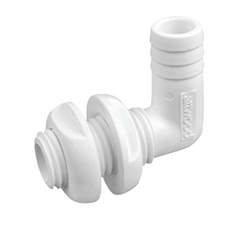 Attwood 3877-3 White One Size boating-plumbing-fittings (Livewell Parts)