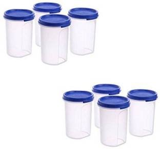 Tupperware Plastic MM Round Container Set  White, Tw_mmround_11  Jars   Containers