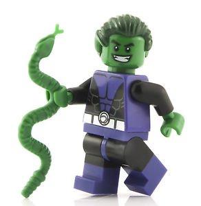 LEGO DC Comics Super Heroes Minifigure - Beast Boy Teen Titan with Snake (76035) (Dc Figures Beast Boy)