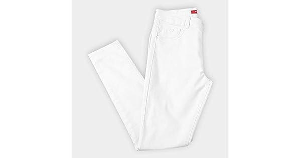 4cbd02ae0 Calça Sarja Skinny Biotipo Básica Cintura Alta Alice Plus Size Feminina:  Amazon.com.br: Amazon Moda