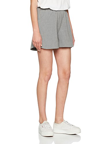Grey Pcdonni Noos Shorts Donna Light Melange Pantaloncini PIECES Grigio 0q7xd1gS