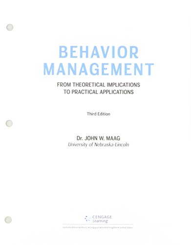 Bundle: Behavior Management: From Theoretical Implications to Practical Applications, Loose-Leaf Version, 3rd + LMS Integrated MindTap Education, 1 term (6 months) Printed Access Card (Behavior Management From Theoretical Implications To Practical Applications)